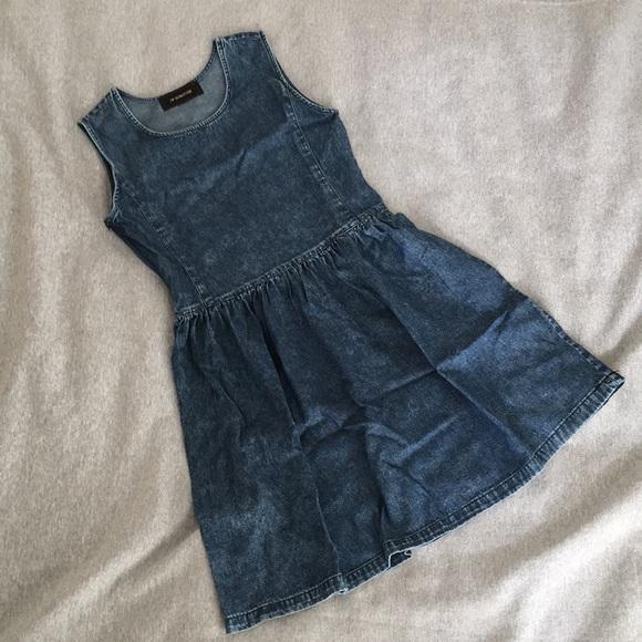 Dresses & Skirts - NEW Denim Sleeveless Dress